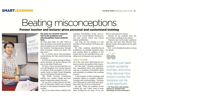 BEATING MISCONCEPTIONS